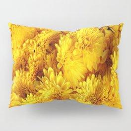 Golden Yellow Chrysanthemums Pillow Sham