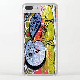 It's Just Paint Clear iPhone Case