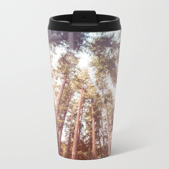 Forest Sky Metal Travel Mug