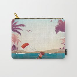 Kite surfer Woman Theme Carry-All Pouch