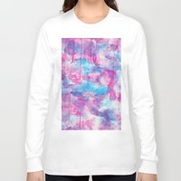 water colour Long Sleeve T-shirts featuring Water Colour Pattern by Andrea Raths