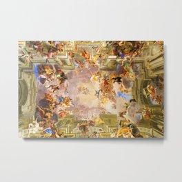 Sant'Ignazio di Loyola in Rome Metal Print