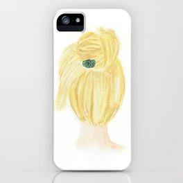 Hair Bun iPhone Case