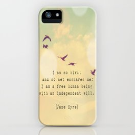 Independent Will iPhone Case