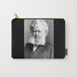Schaarwachter  Portrait of Ibsen Carry-All Pouch