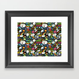Rainbow in the Dark Framed Art Print