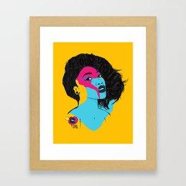 I told you so Framed Art Print