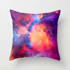 Artistic XCI - Nebula Throw Pillow