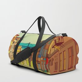San Francisco digital street view Duffle Bag