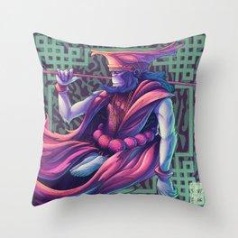 shaolin monk Throw Pillow