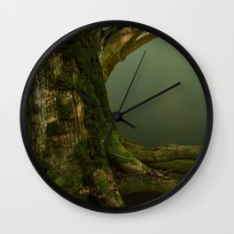 Forest Gates Wall Clock