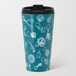 key chain collection Travel Mug
