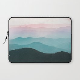 Smoky Mountain National Park Sunset Layers III - Nature Photography Laptop Sleeve