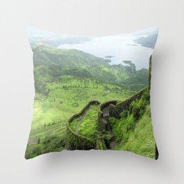 Salalah Oman 9 Throw Pillow