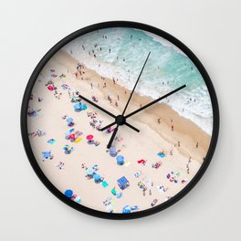 Colors of Manhattan Beach California Wall Clock