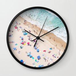 Colors of Manhattan Beach California Wall Clock