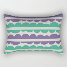 Mordidas Retro Grapes Rectangular Pillow