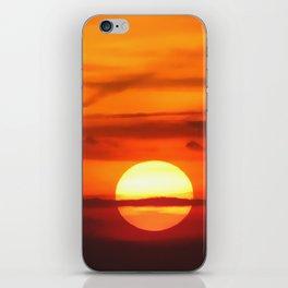 Sunset at Devil's Dyke (UK) iPhone Skin