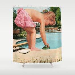 Deep End Shower Curtain