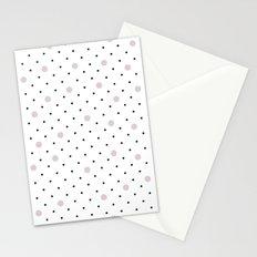 Pin Points Polka Dot Pink Stationery Cards