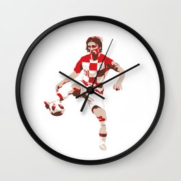 Luka Modric - Ballon d'Or Wall Clock