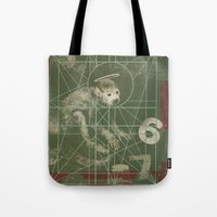 pixies Tote Bags featuring Pixies - Doolittle by NICEALB