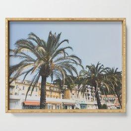 Cote d'Azur Palms Serving Tray