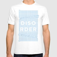Disorder Mens Fitted Tee White MEDIUM