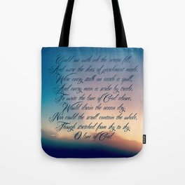 Love of God Tote Bag