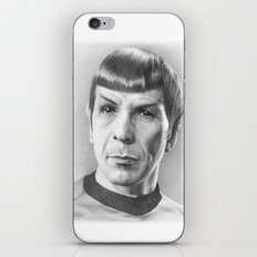 Spock - Fascinating (Star Trek TOS) iPhone & iPod Skin
