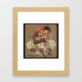 Open Up To Me Framed Art Print