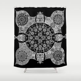 Four Corners Shower Curtain