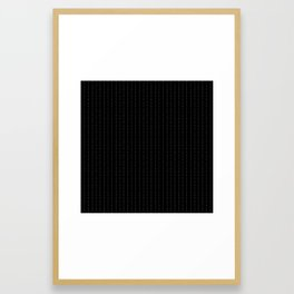 Fuck You - Pin Stripe - conor mcgregor Framed Art Print