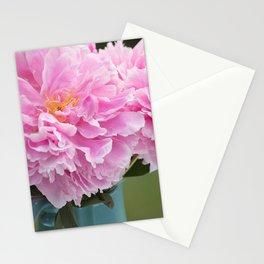 Peony Drama ~ Paint Daubs Stationery Cards