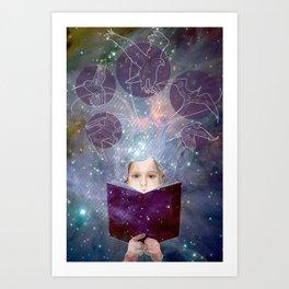 Project Books! Art Print