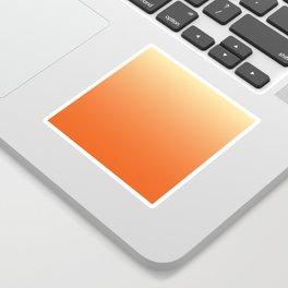 Orange Ombre Sticker