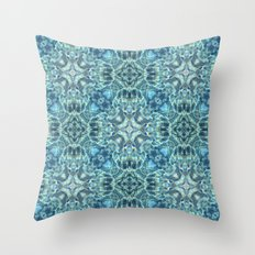 Pooled reflections Throw Pillow