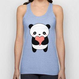 Kawaii Cute Panda Bear Unisex Tank Top