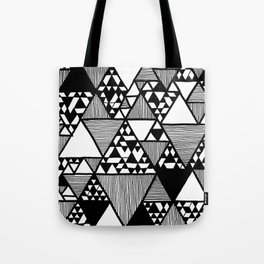 Triangular world Tote Bag