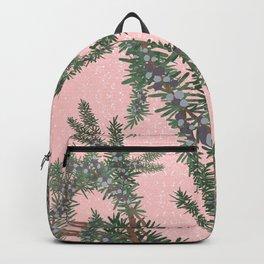 Juniper on Pink Backpack