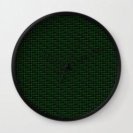 qwerty Wall Clock