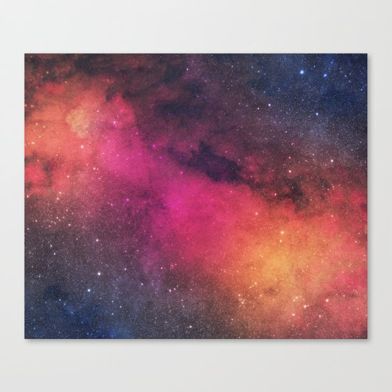 Born In Nebula #society6 Canvas Print