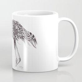 Zentangle Flamingo Coffee Mug