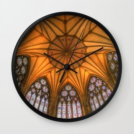 The Chapter House York Minster Wall Clock