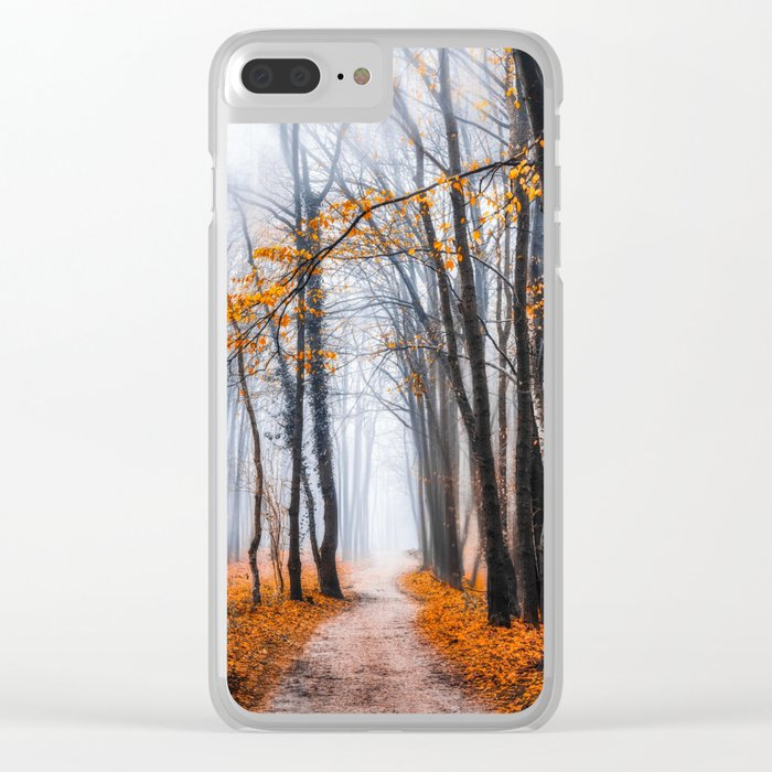 To Travel The Path Unknown Clear iPhone Case