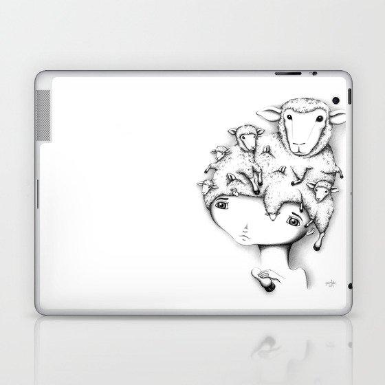 Merino Mutation Laptop & iPad Skin