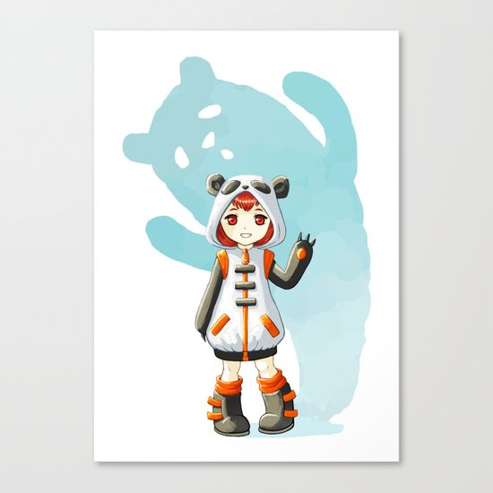 Cosplay Canvas Print