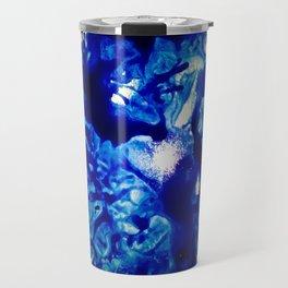 Glass Blues Travel Mug