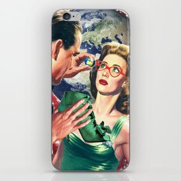 THE WORLD DOMINATION AND SHOES BRIBE iPhone Skin