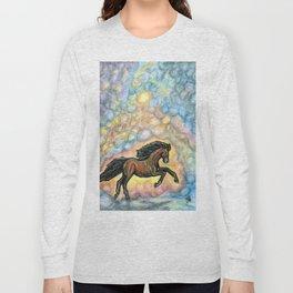 Comet Horse Long Sleeve T-shirt